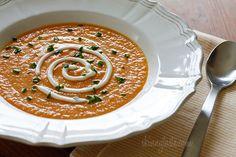 Skinny Yet Creamy Carrot Ginger Soup   Skinnytaste