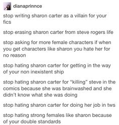 I think Sharon Carter is awesome, it just throws me off that she's related to Peggy and Steve started dating her literally hours after Peggy's funeral. <-- I think people forget that just because we know Steve lives, he doesn't. Last time he kissed a girl before rushing off to fight, he lost her and everything else he cared about. I think there is a strong possibility that it was the funeral that actually trigger. He didn't want to leave anything unsaid.