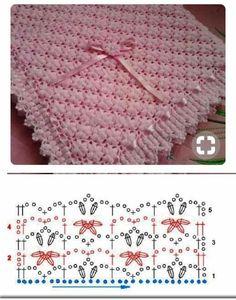 Image gallery – Page 655766395714879873 – Artofit Crochet Stitches Patterns, Baby Knitting Patterns, Crochet Designs, Baby Patterns, Stitch Patterns, Baby Snuggle Blanket, Baby Boy Blankets, Knitted Baby Blankets, Crochet Afgans