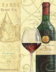 DECOUPAGE - Drink & Food