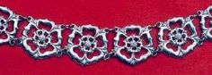 """Tudor Rose"" Chain of Office - Collars of heavy ornaments, often the work of goldsmiths, sometimes set with jewels, were in great favour with royalty and nobility in the Tudor period, often being worn when in full or semi-state dress."