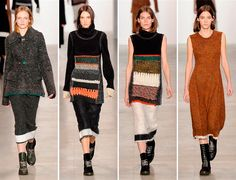 Calvin Klein Fall/Winter 2014-2015 Collection - New York Fashion Week www.sewingavenue.com