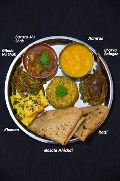 I am an ardent fan of eating Indian Cuisine Thalis.It can be Punjabi Thali, Rajasthani. Gujarati Thali, Gujarati Cuisine, Gujarati Recipes, Veg Recipes, Indian Food Recipes, Vegetarian Recipes, Cooking Recipes, Comida India, Desi Food