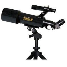 Coleman 70-400 AstroWatch 70 400x70 Refractor Telescope