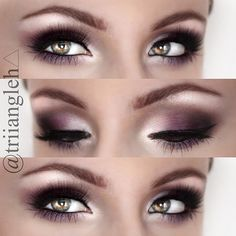 Hmm... Let's keep. Purple is suggested for green/hazel eyes and since mine change, purple is a staple!