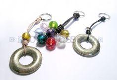 LLaveros con bolas de cristal Venice
