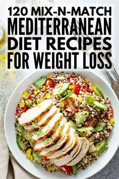 Mediterranean Diet Meal Plan for . - 120 Mediterranean Diet Recipes for Weight Loss Ketogenic Diet Meal Plan, Diet Meal Plans, Meal Prep, Diet Menu, Keto Meal, Hcg Diet, Dieta Atkins, Best Pasta Dishes, Easy Mediterranean Diet Recipes