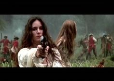 Madeleine Stowe  The Last of the Mohicans
