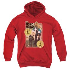 Bionic Woman - Jamie And Max Youth Pull-Over Hoodie