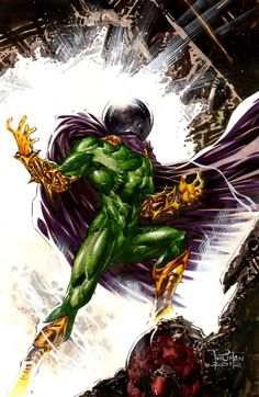 Mysterio: Mysterio was a formidable foe to the amazing Spider-Man. So much so that his arts of illusion were carried on by others after the original Mysterio's death. The original Mysterio, Quentin Beck, has recently returned. The events behind his resurrection are currently shrouded in mystery.