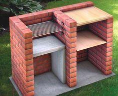 Ideas Backyard Patio Fireplace Outdoor Fire Pits For 2019 Outdoor Oven, Outdoor Fire, Outdoor Cooking, Outdoor Barbeque, Backyard Patio, Backyard Landscaping, Backyard Ideas, Parrilla Exterior, Brick Grill