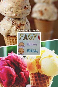 Tradicionális olasz főzött fagyi 100 Ft /gombóc ! ✌️❤️ Ice cream ❤️
