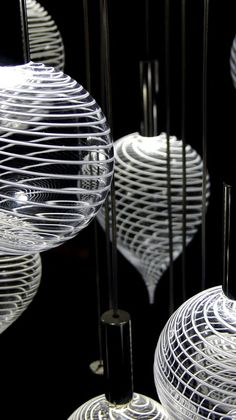 Latticello Glass Chandeliers