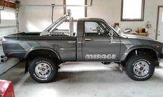 "1983 Toyota SR-5 4x4 Pickup Truck ""Mirage Limited Edition""     1983 Toyota Hilux 4x4 Pickup Truck Mirage Edition       The Toyota Hilux tr..."