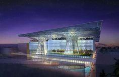 Masdar HQ: World's First Positive Energy Building by Norman Foster and Partners