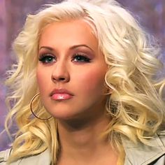 Christina Aguilera, The Voice makeup