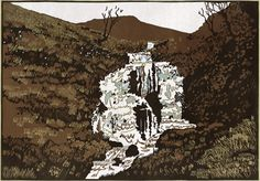 Water Fall at Cwn Cwych - Ian Phillips