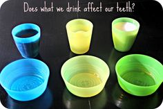 What soda does to teeth- science experiment using eggs.