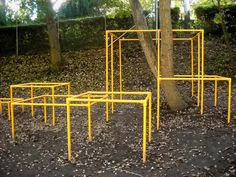 Monkey bars/ playscapes: The Playscape Chronicles of Frode Svane