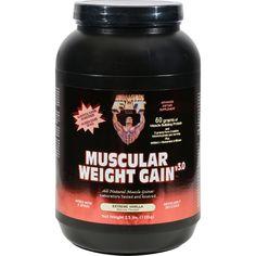 Healthy 'N Fit Muscular Weight Gain 2 - Vanilla - 2.5 Lb.