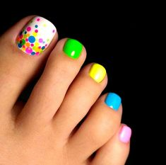 Wonderful Toe Nail Art Designs Ideas 2018 – Nails C - Diy Nail Designs Fall Toe Nails, Cute Toe Nails, Summer Toe Nails, Toe Nail Art, Diy Nails, Summer Beach Nails, Beach Toe Nails, Beach Nail Art, Bright Summer Nails