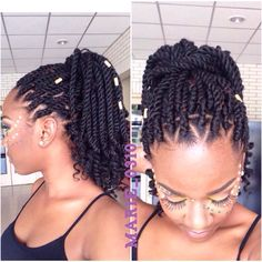Marley hair is a versatile synthetic hair that can be used for a variety of styles including twists, 'dos &crochet braids. Here's How to style Marley hair guide Pelo Afro, Kinky Hair, Pelo Natural, Natural Hair Care, Natural Twists, Natural Nails, Kinky Twist Styles, Flat Twist Styles, Braid Styles