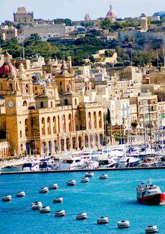 Amazing cityscape in Malta | Visit Malta – A Piece of Heaven in Southern Europe