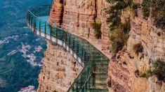 Adrenalinelovers opgelet: drie glazen bruggen in China