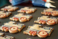 Train Cookies  #YoYoBirthday