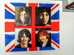 """""""The fab four"""" oil on canvas 25x30cm  painted by Ariela Salcini"""