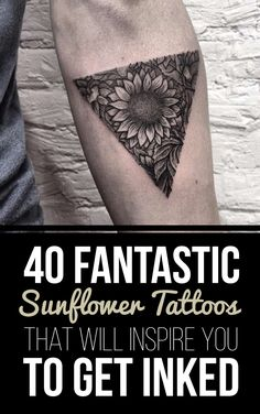 40 Fantastic Sunflower Tattoos That Will Inspire You To Get Inked | TattooBlend