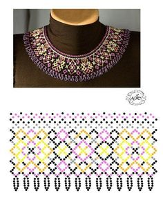 Beaded Crafts, Jewelry Crafts, Diy Necklace Patterns, Beaded Jewelry Designs, Beaded Collar, Seed Bead Necklace, Handmade Beads, Schmuck Design, Beads And Wire