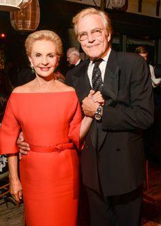 Carolina Herrera and Peter Martin at the New York City Ballet Fall Gala.