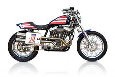 "Racing Cafè: Harley ""Evil Knievel 1200"" by Deus"