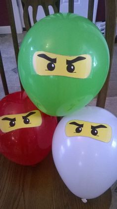Where do we turn when the kid asks for a party theme that doesn& exist? Lego Ninjago Cake, Ninjago Party, Ninja Birthday Parties, Birthday Party Games, 7th Birthday, Lego Themed Party, Party Themes, Party Ideas, Bolo Lego
