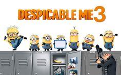 Lataa kuva Despicable Me 3, 2017, Kaikki merkit, uusia sarjakuvia, Elokuva Fantasia, Balthazar Paikoilleen, Kevin, minions