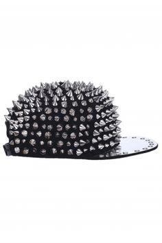 15679c5e39ce All-over Spike Cap Dodatki Flat Hats