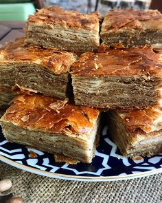 Image may contain: food Turkish Delight, Pastry Cake, Banana Bread, Tart, Food And Drink, Cooking, Desserts, Foods, Image