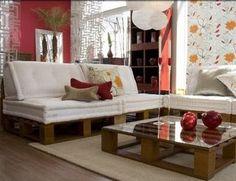 Como fabricar muebles con palets (bricolaje) - Taringa!