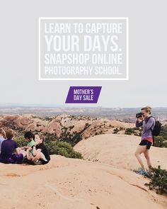 In honor of Mother's Day. 1 year SnapShop Online Photography School memberships are off.
