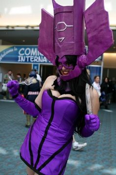 #Cosplay: #Galactus #Rule63 at Comic Con 2011