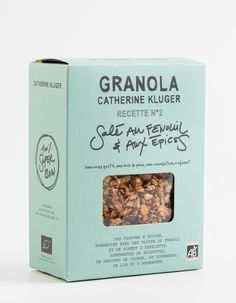 """Granola Catherine Kluger """"Fennel and Spices"""" granola"""