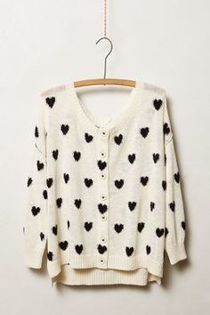 Anthropologie Moth Heart Intarsia Women's Cardigan Angora Blend Size Small Style And Grace, Style Me, Sweater Outfits, Cute Outfits, Mode Inspiration, A Line Skirts, Autumn Winter Fashion, Anthropologie, Sweaters For Women