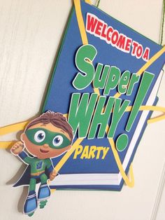 Resultado de imagen de Super Why Birthday Party