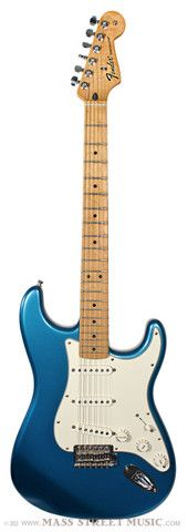 Fender Standard Stratocaster, blue