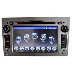 In-Dash Car DVD Gps navigation Stereo for Opel Antara with Radio TV Bluetooth Ipod-1