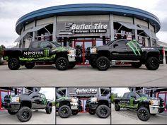 Monster Energy Trucks!