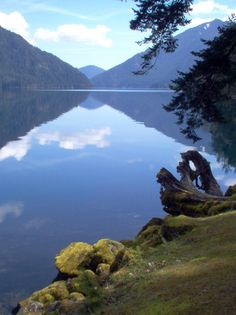 Crescent lake-- another incredible place we found when we drive the entire pacnw a couple years ago