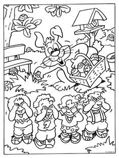Kleurplaten Pasen Uitprinten.185 Beste Afbeeldingen Van Pasen Kleurplaten Coloring Pages