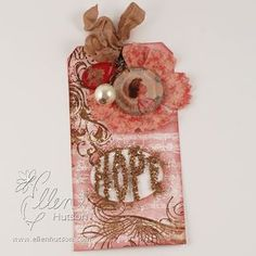 12 Tags of Christmas with a Feminine Twist